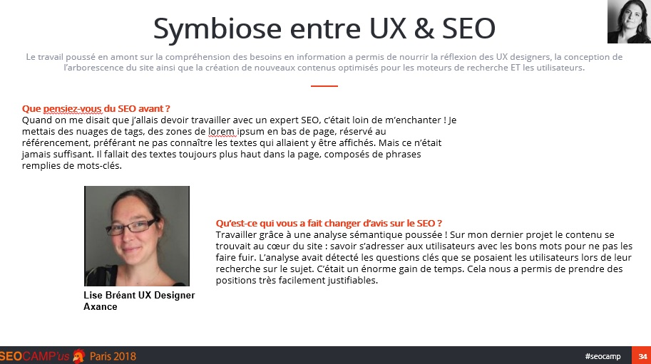 Symbiose UX & SEO - SEO Campus